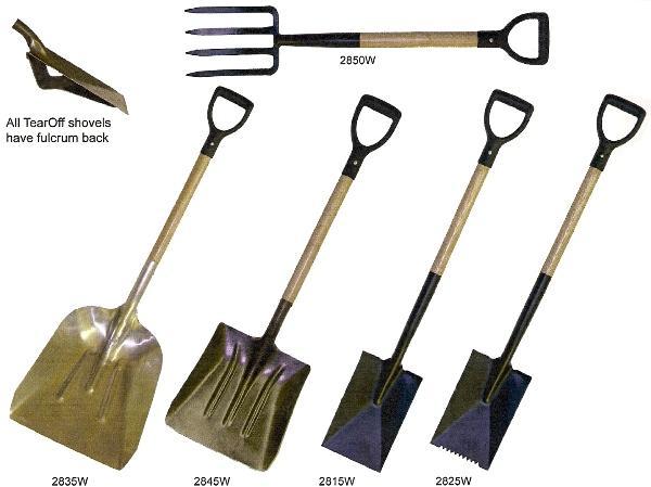 Luco Mop Company Shovels
